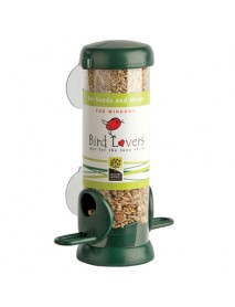 Bird Lovers window feeder for seeds
