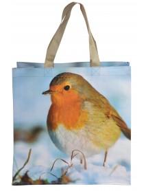 Robin print bag