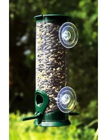 Discovery window seed feeder
