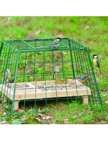Ground feeder guard (large mesh)