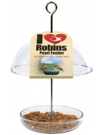I Love Robins mini 'pearl' feeder
