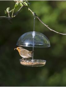 I Love Robins mini 'pearl' feeder