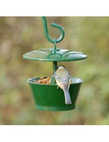 Mealworm and suet pellet feeder