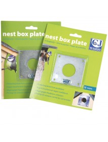 Nest box protection plate (32mm)