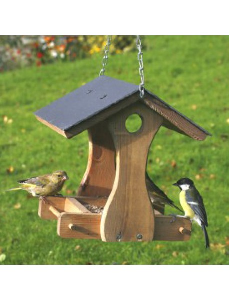 New York slate hanging bird table (**LOCAL DELIVERY ONLY**)