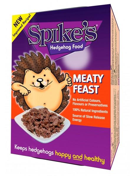 Spike's meaty feast hedgehog food (8 no. sachets)