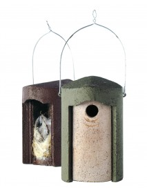 Woodcrete '1B' 32mm hole-fronted nest box