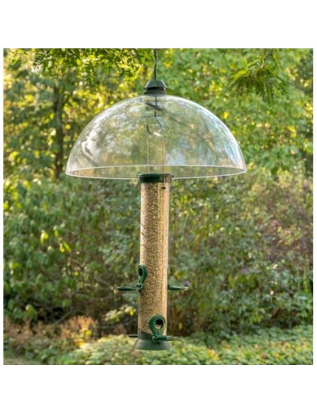 Squirrel guard baffle dome